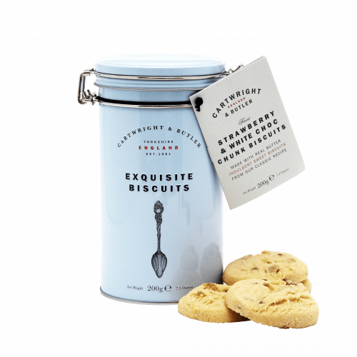 Strawberry & White Chocolate Biscuits - Product