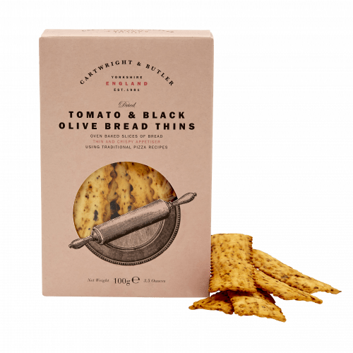 Tomato & Black Olive Bread Thins