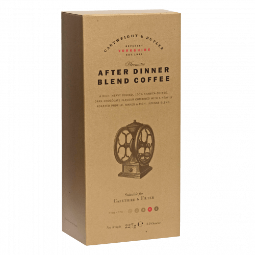 After Dinner Blend Coffee in Carton