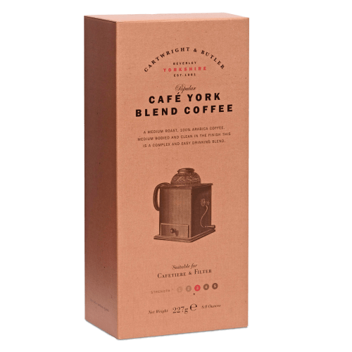 Café York Blend Coffee Carton