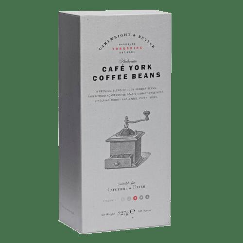 Cafe York Beans in Carton