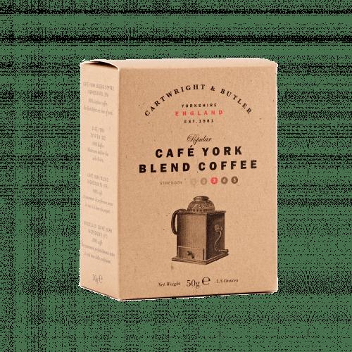Café York Blend Coffee Carton 50g
