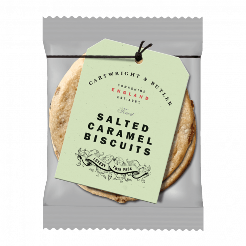 Salted Caramel twin pack biscuits