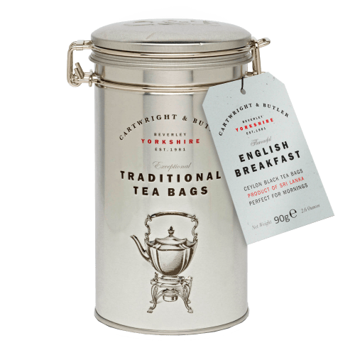 English Breakfast Tea Bags Caddy