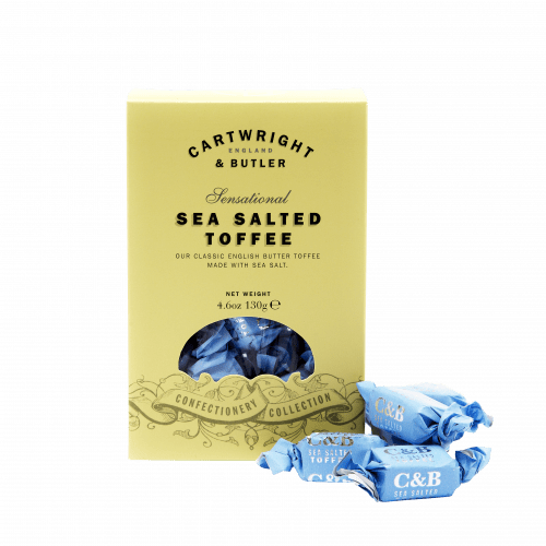 Sea salted toffee