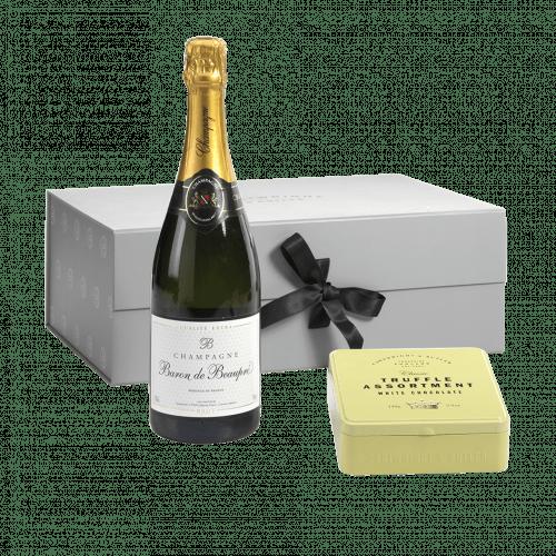 Champagne & Truffle Gift Box