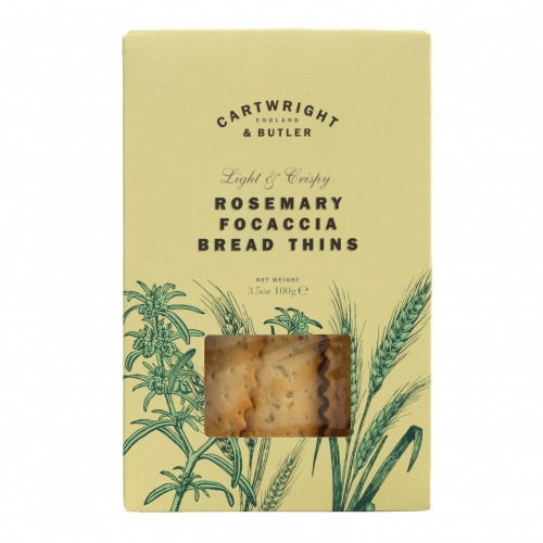 Rosemary Focaccia Bread Thins