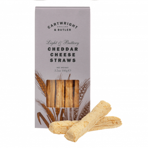 Cheddar Cheese Straws in Carton - product