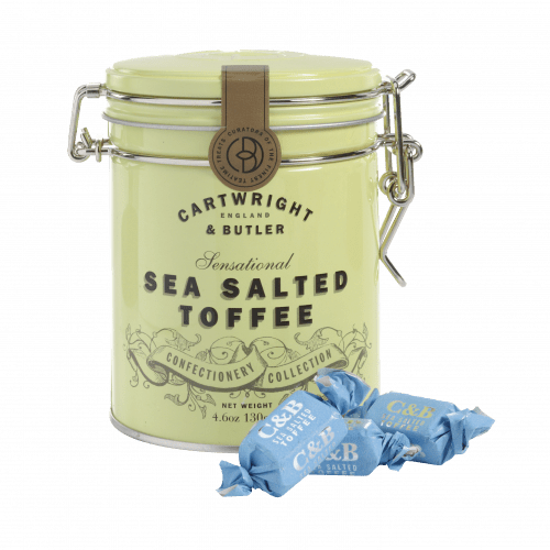 Sea Salted Toffee in Tin