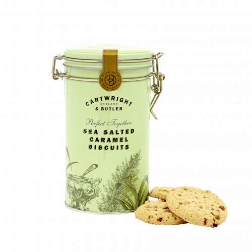 Salted Caramel Biscuits in Tin