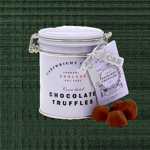 Hazlenut Chocolate Truffles in Tin