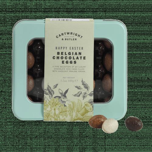 Luxury Belgian Chocolate Eggs