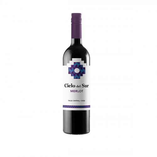 Cielo Del Sur Merlot 75cl Red Wine (Chile)