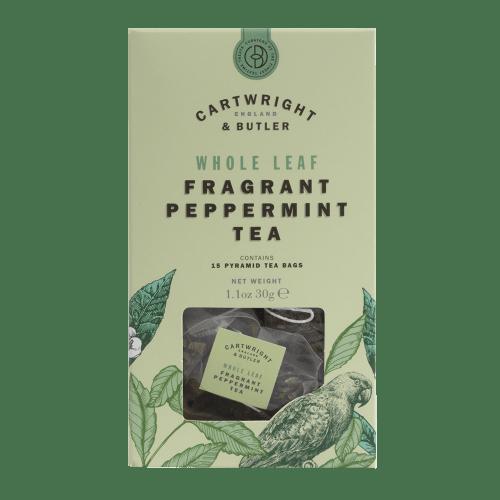 Pure Peppermint Whole Leaf Tea Bags Carton