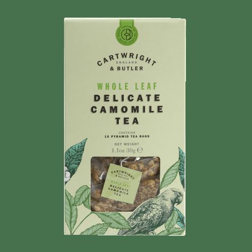 Camomile Whole Leaf Tea Bags Carton
