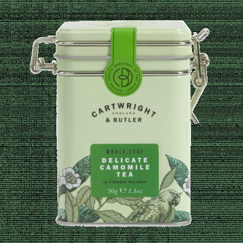 Camomile Whole Leaf Tea Bags in Tin