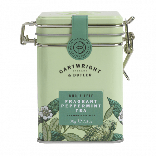 Pure Peppermint Whole Leaf Tea Bags Tin