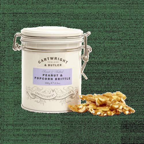 Peanut & Popcorn Brittle Tin