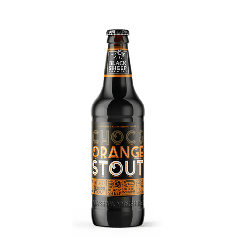 Black Sheep Chocolate & Orange stout