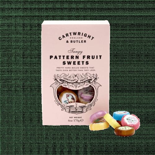 Pattern Fruit Candies Carton