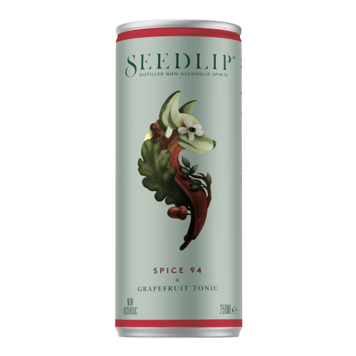 Seedlip Spice and Grapefruit tonic 25cl