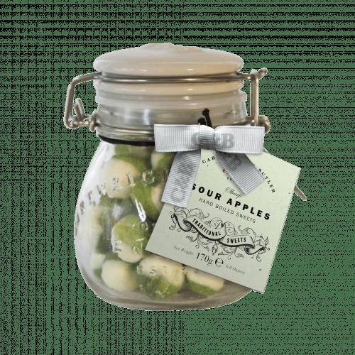 Sour Apples in Jar