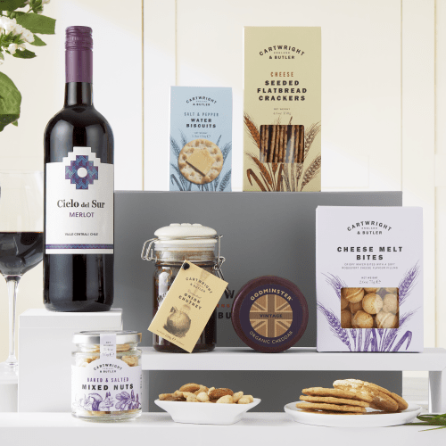 The Cheese & Wine Night Selection Hamper