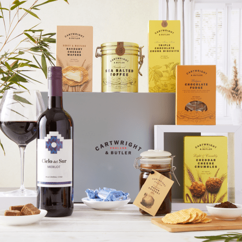 The Sweet and Savoury Selection with Red Wine