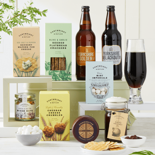 The Cheese and Beer Gift Hamper