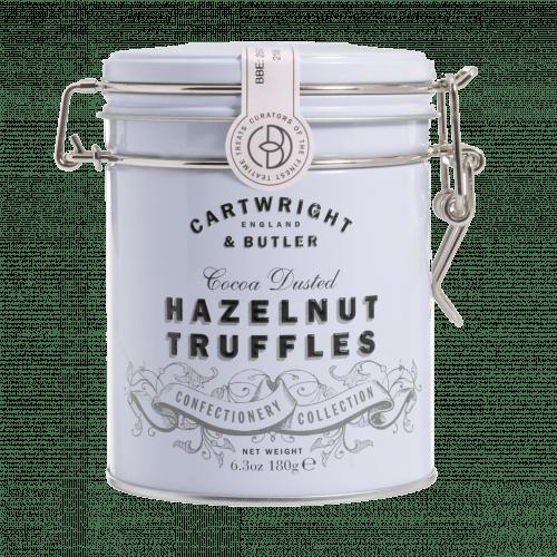 Hazelnut Chocolate Truffles tin