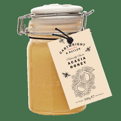 Set Acacia Honey with comb