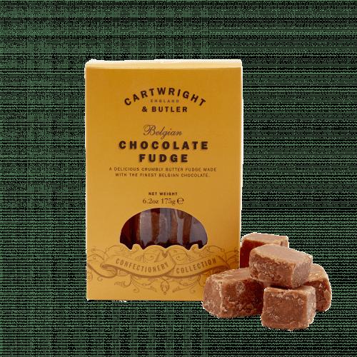 Belgian Chocolate Fudge in Carton