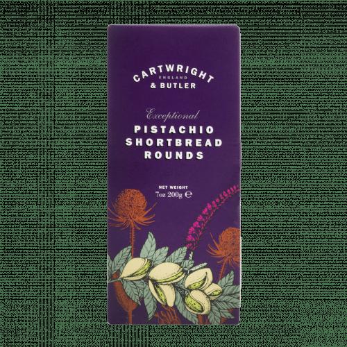 Pistachio Shortbread Rounds Carton