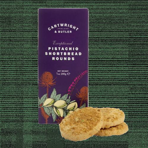 Pistachio Shortbread Rounds