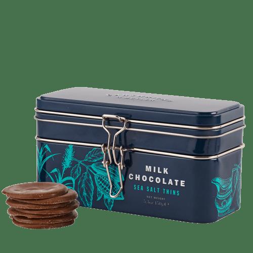 Milk Chocolate Sea Salt Thins