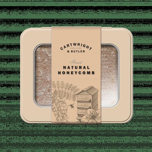 Natural Honeycomb in Tin