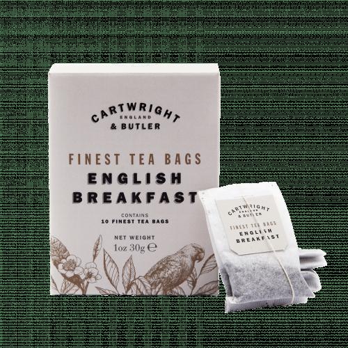 English Breakfast Tea Bags in Carton
