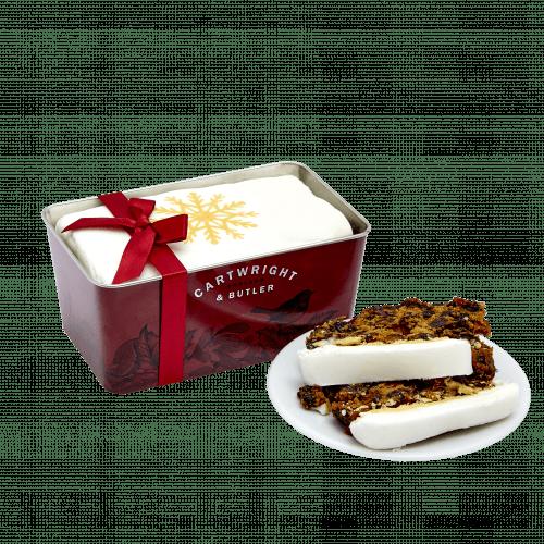 Iced Christmas Loaf Cake