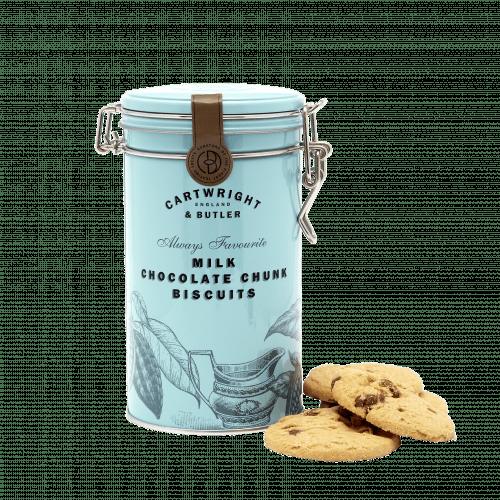 Milk Choc Chunk Biscuits
