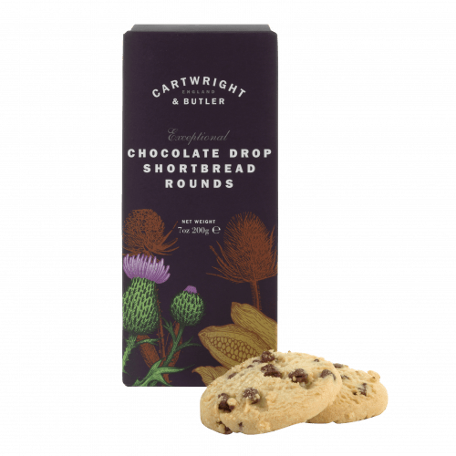 Chocolate Drop Shortbread