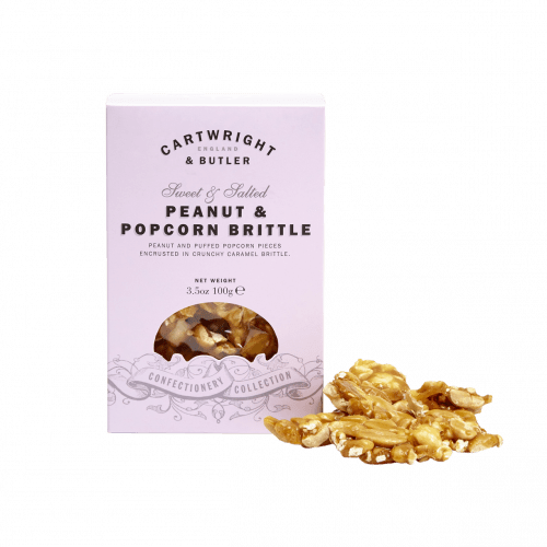 Peanut & Popcorn Brittle