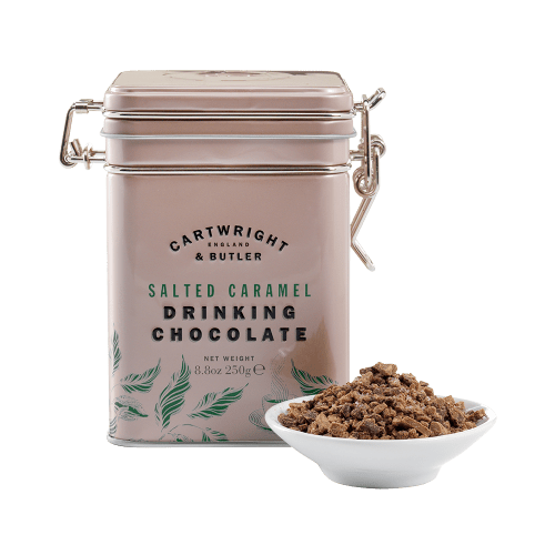 Salted Caramel Drinking Chocolate in Tin
