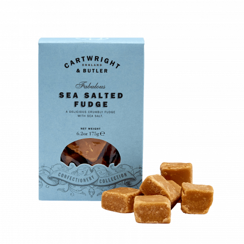 Salted Caramel Fudge in Carton
