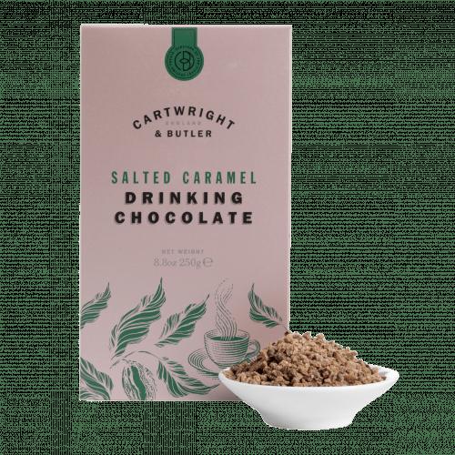 Salted Caramel Drinking Chocolate Carton