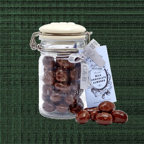 Sea Salted Chocolate Almonds