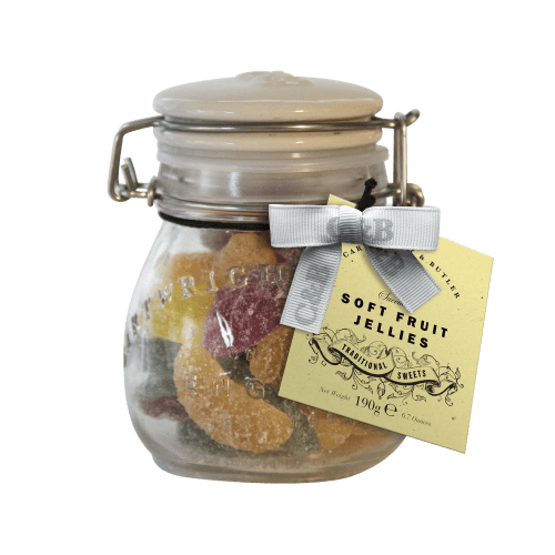 Soft Fruit Jellies in Jar